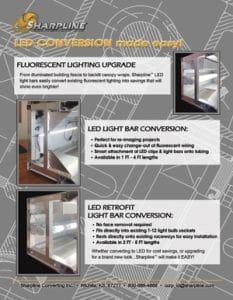 System 90 LED Conversion flyer
