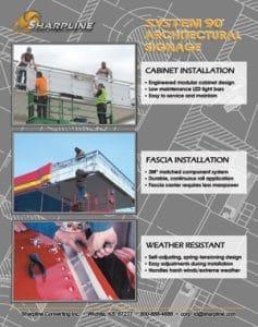 System 90 Installation flyer