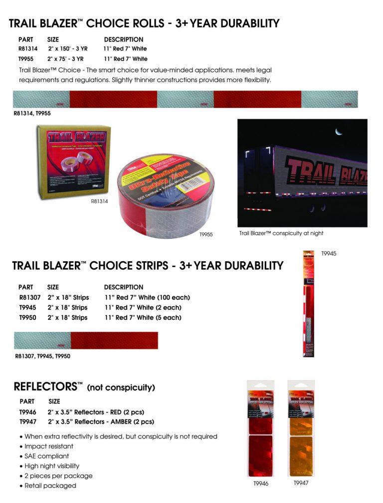 Trail Blazer Choice Conspicuity